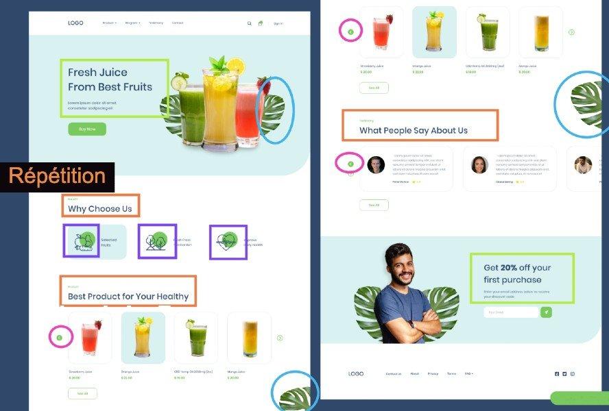 08. Les bonnes pratiques pour réussir le Design d'un site web: Fondamentaux Webdesign CreaMentor 2